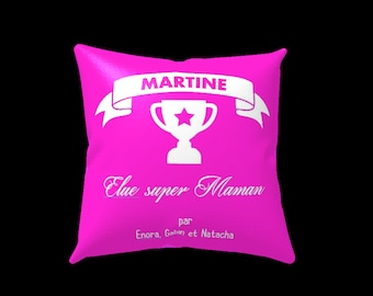 Personalized mother's day pillow