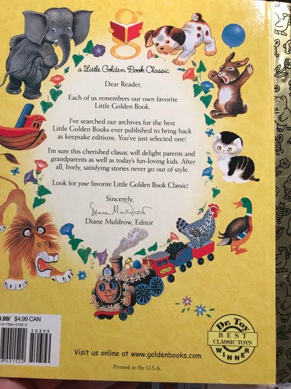 Pinocchio Disney Classic Little Golden Book Hardcover Etsy