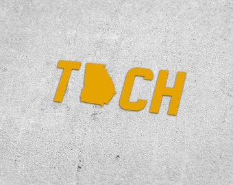 968c2ce346e Georgia Tech Vinyl Decal
