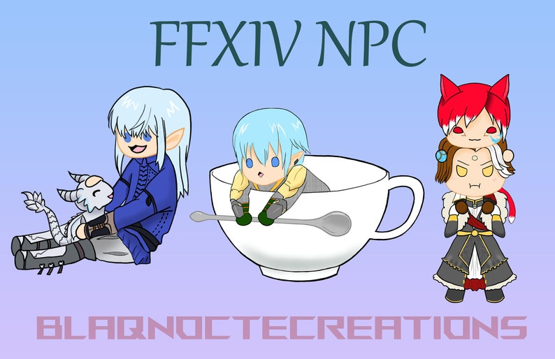 FFXIV NPC Charms