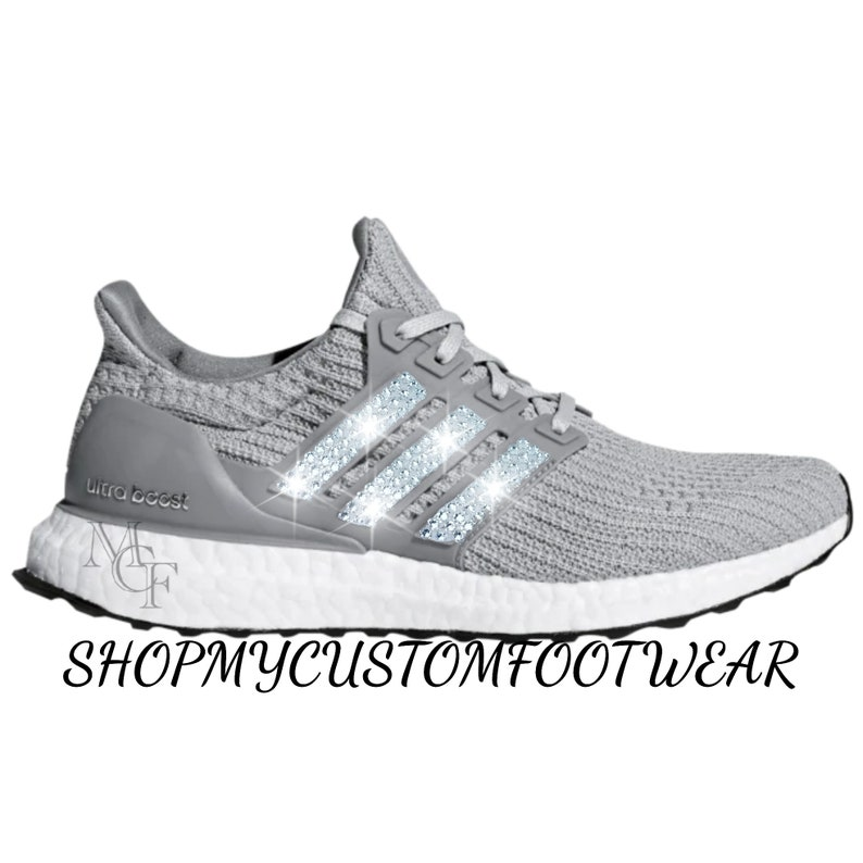 more photos e71b6 82e4d Adidas Ultra boost customized with Swarovski crystal