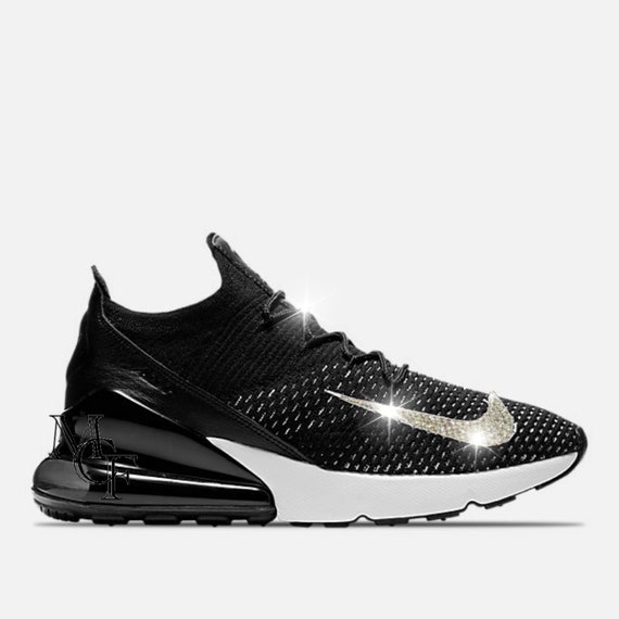 1171b616e0b3 Nike Air Max 270 Flyknit customized with Swarovski crystal