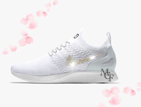 Nike Air Zoom Mariah Flyknit customized with Swarovski crystal  7992861624