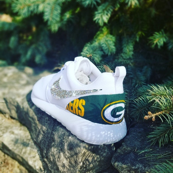 Nike Roshe One Custom 'Green Bay' Edition