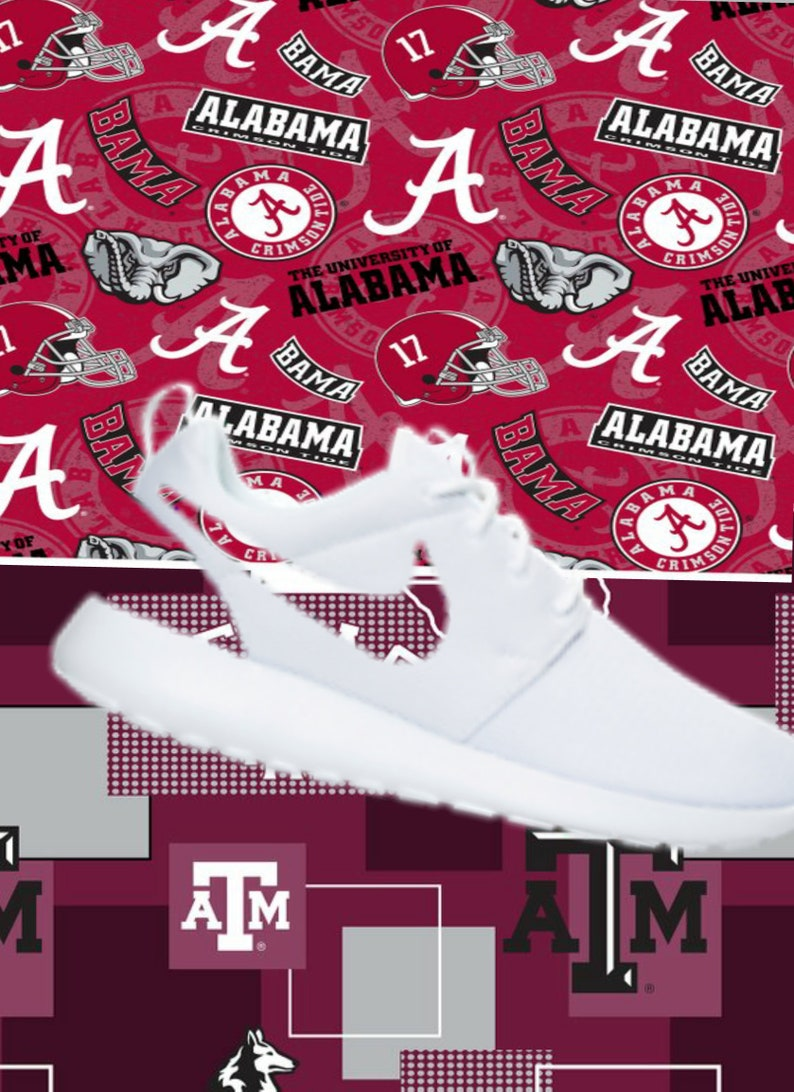 best website 62ea7 37e35 Alabama Texas A M custom nike roshe   Etsy