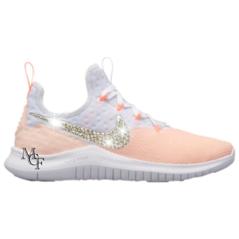 on sale d8926 3a7a1 Nike Free TR8 customized with Swarovski crystals