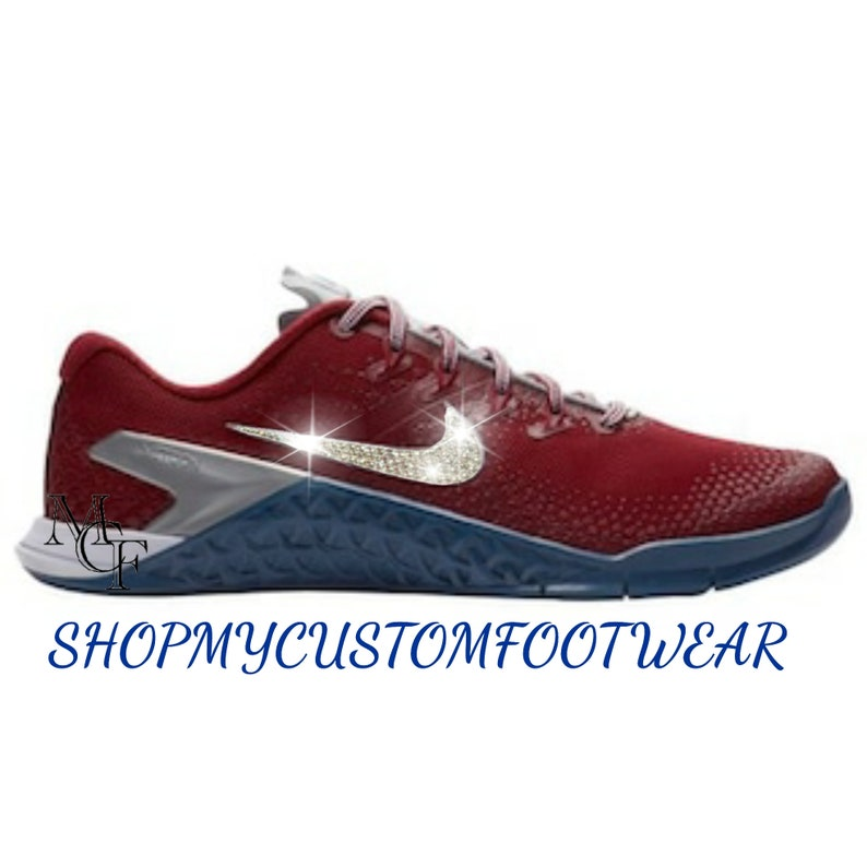 buy online 7ac88 bb0ad Nike Metcon DSX Flyknit 2 customized with Swarovski Crystal | Etsy