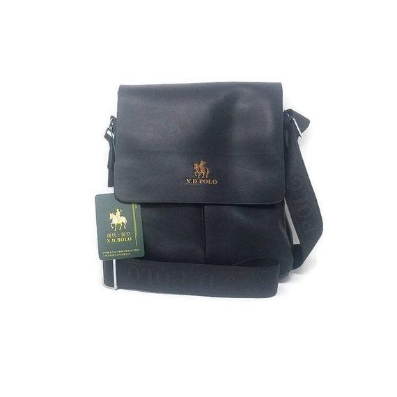 Vintage Messenger Bag Men's Shoulder Leather Bags