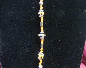 Bracelet Lampwork Handmade