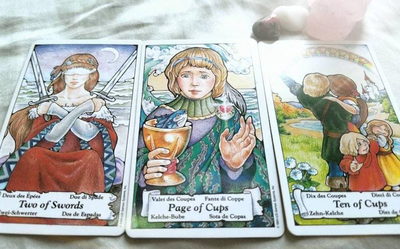 Past, Present, Future Tarot Reading