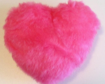 Fur Heart Pillow PATTERN