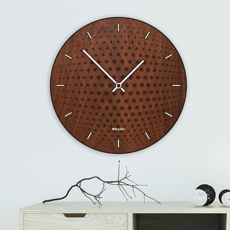 7e6a53358 Modern Wood Wall Clock Wall Clock Wood Clock Home Decor