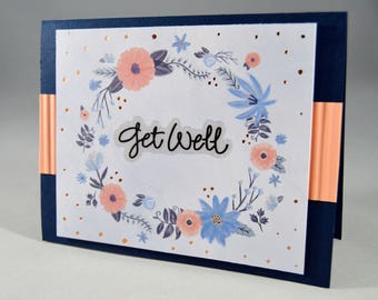 Floral Get Well Card