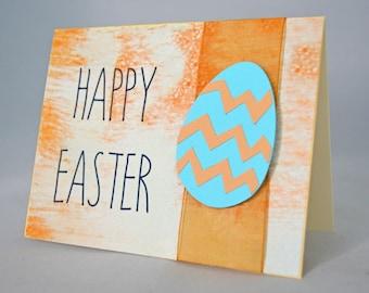 Orange Easter Egg Card