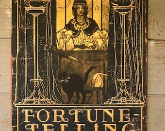 Fortune Telling, Madame Xanto, Vintage Style, Mystical, Handcrafted Plaque / Sign