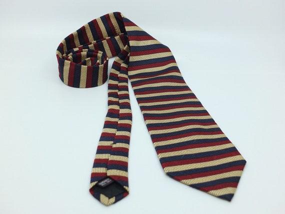 vintage silk tie Raphael Roma 80s