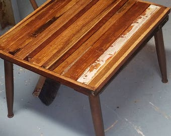 Custom recycled materials tables