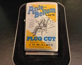 Zippo Only 50 Made Ante Bellum Tobacco Plug Cut New Unfired
