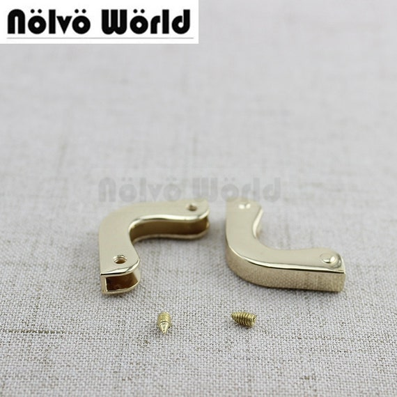 10-30pieces 2.5X2.5cm kleines Dreieck Klappe Ende Schutz-Clips | Etsy