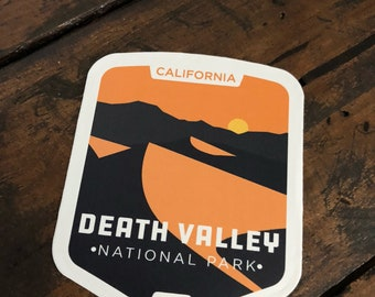 Death Valley National Park - Vinyl Sticker