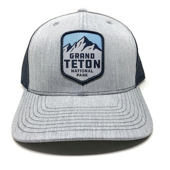 Grand Teton National Park Wyoming Snap Back Hat National Park