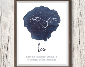 PERSONALIZED ZODIAC ART