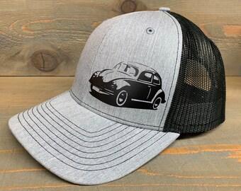 4b450119 Volkswagen Beetle Snapback Mesh Trucker Hat