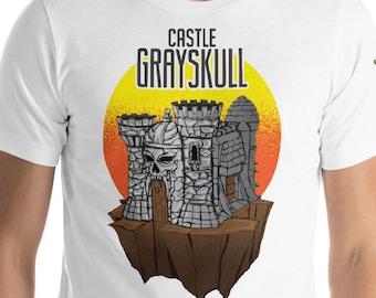 Castle Grey Skull Tee