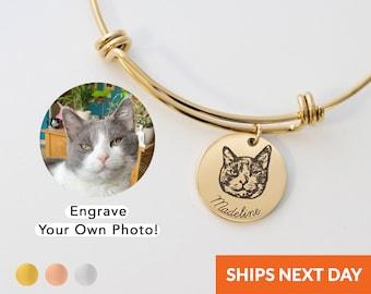 Delicate Cat Red String Bracelet Animal Bracelet Silver Cat Bridesmade Gift Kitty Wish Bracelet For BFF Cat Jewelry Cat Lady Charm Bracelet
