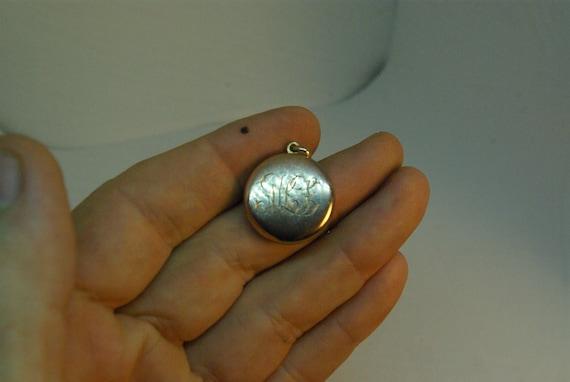 Antique Victorian Locket Victorian Picture Locket,