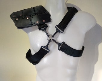 Wasteland Armor Right Shoulder Plate Post Apocalyptic Shoulder Armor