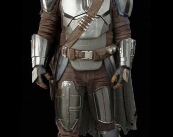 SEASON 2 The Mandalorian Full Beskar Armour Suit Star Wars Cosplay Replica