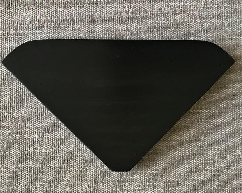 pentagonal 1 home decor corner shelf