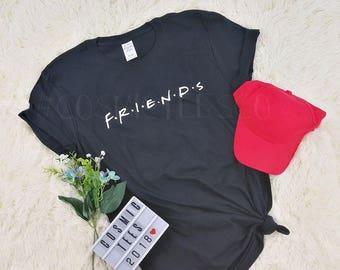 friends tv show shirt, friends shirt, shirt from friends, monica shirt, rachel shirt, phoebe shirt, girls t shirt friends, tumblr, hipster