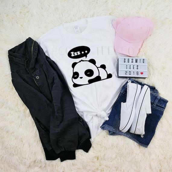 Je hais matin Panda Sweat à Capuche Animal Lover Tumblr Sweat à capuche Enfant Adulte Haut à Capuche
