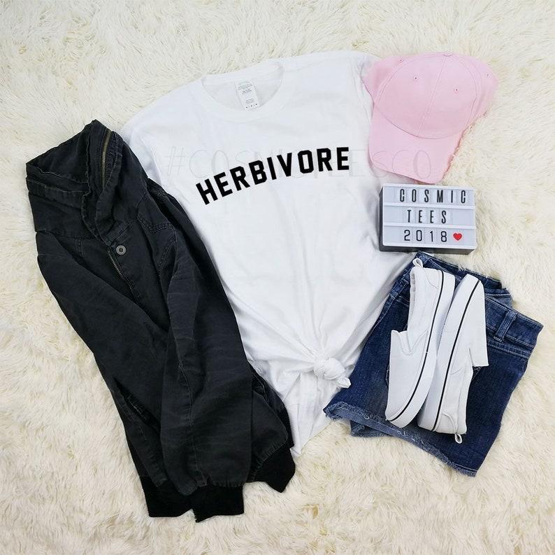 68490f5c Herbivore shirt vegan tshirt vegan life veganism | Etsy