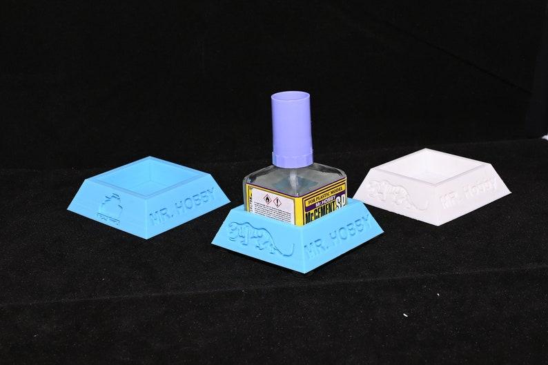 Custom MR HOBBY glue pot holder image 1