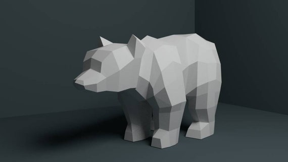 How To Make An Origami Bear - YouTube | 321x570