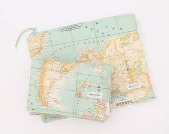 Adventure awaits fabric etsy wanderlust gift adventure awaits world map fabric travel changing mat nappy wallet baby shower gift wanderlust baby changing mat gumiabroncs Image collections