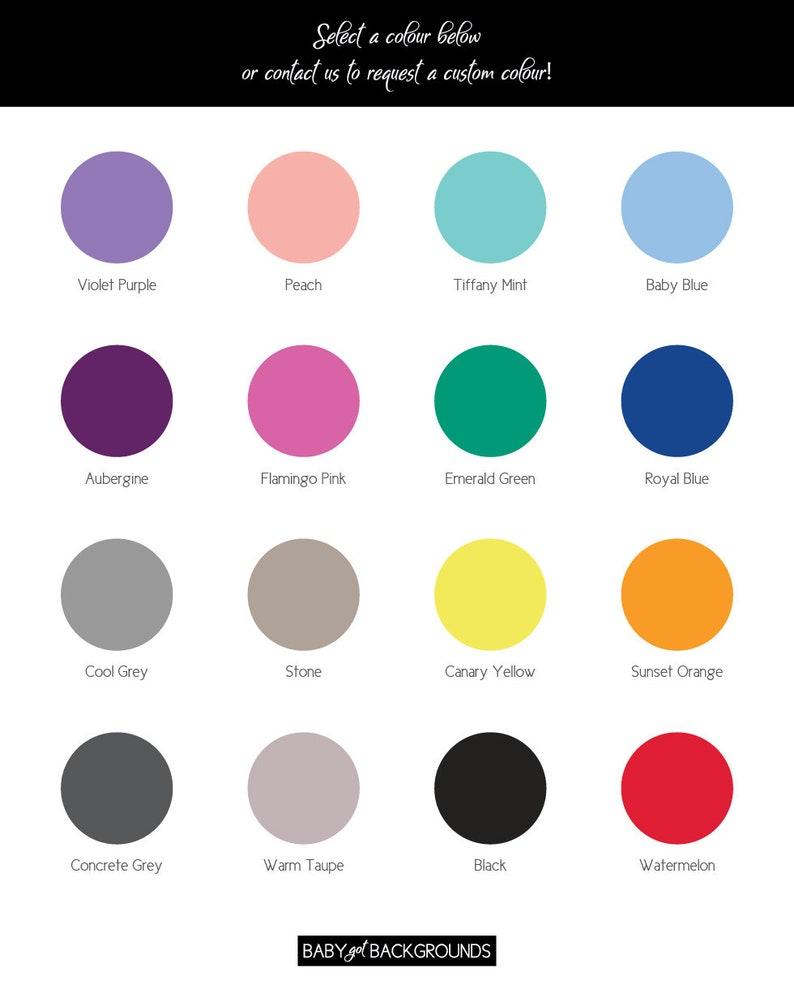 d4de225b477865 CUSTOM COLOUR Pantone CMYK Solid Color Backdrop 90 x 50 cm