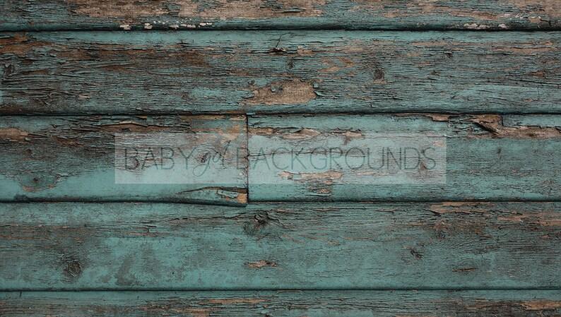 Plank 90 Cm.Minty Blue Shabby Rustic Wood Planks Background 90 X 50 Cm Etsy