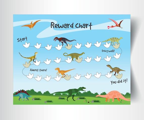 DINOSAUR HUNTING FOOTPRINT Art Print Sketch Picture Children Baby Nursery   Baby