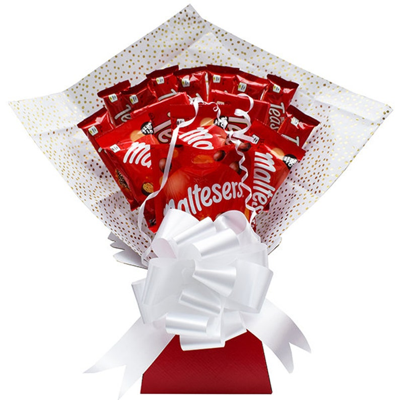 Maltesers Chocolate Bouquet Hamper Birthday Gift