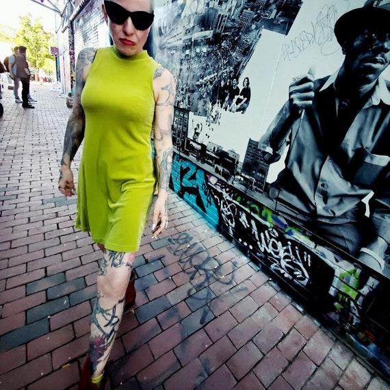 90'S Betsey Johnson velvet Dress - image 1