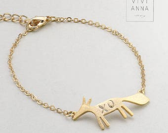 Fuchs put on bracelets personalized PB002