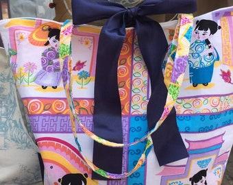 Large Japanese Shopper/beach/Hand Bag