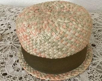 1960's Vintage Woven Hat