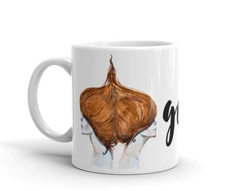 Gemini Coffee Mug / Horoscope Gift/ The Twins Zodiac Sign/ Two Women/ Astrology Gift/ Star Sign Gift