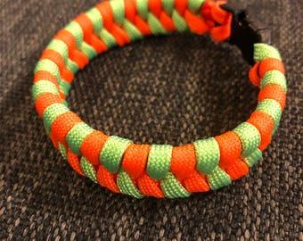 Fishtail/Switchback Paracord Survival Bracelet