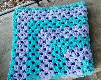 crochet baby blanket 30 X 30 inches